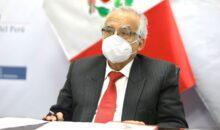 Ministro de Justicia asegura que dictamen sobre cuestión de confianza transgrede Constitución