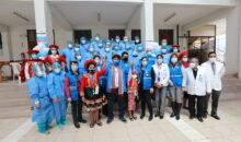 Presidente de EsSalud puso en funcionamiento en Cusco planta de oxígeno y moderno tomógrafo