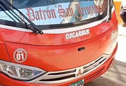 Niño de 4 años encontró trágica muerte al ser arrollado por bus de transporte público