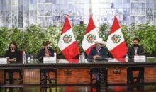 Pedro Castillo asegura que su Gobierno garantizará derechos fundamentales de todas las personas
