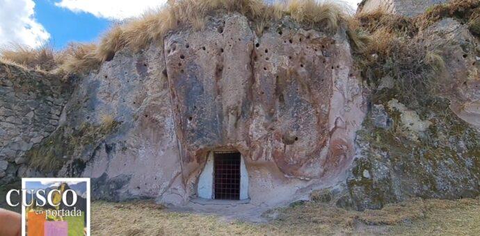 Conozca la Qaqa Cárcel de Chamaca o prisión antigua construida en un gigantesco peñón