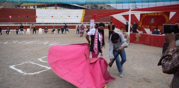 Inauguran escuela de tauromaquia en Chumbivilcas para promover habilidades  taurinas