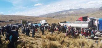 Comunidades de Livitaca inician huelga exigiendo nuevo Convenio Marco con Hudbay