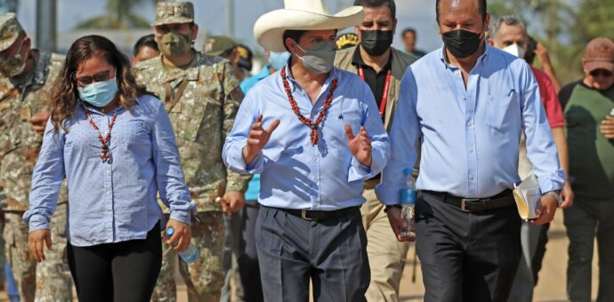 Presidente Pedro Castillo oficializa iniciativa para masificar gas natural en el sur peruano
