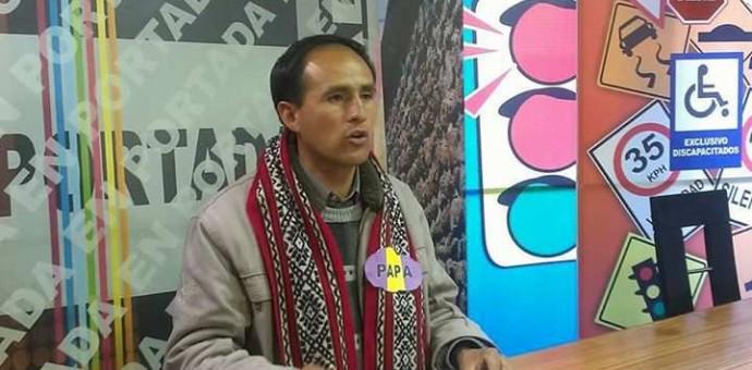 Ex presidente de la FUC, Cristian Quispe Montañez, es candidato a Consejero Regional para el Cusco
