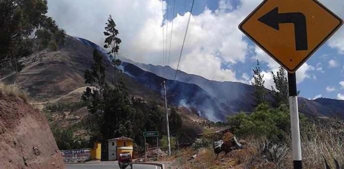 Incendio forestal de gran magnitud