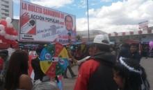 Vea como se desarrolló la Feria Electoral 2014 en la Plaza Túpac Amaru