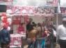 Se produjo un enfrentamiento entre los militantes del candidato Provincial Carlos Moscoso y el Regional Edwin Licuona, al final tuvieron que compartir el espacio.