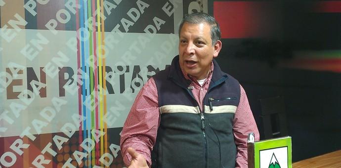 Líder de Tierra y Libertad cuestiona en Cusco concentración de medios