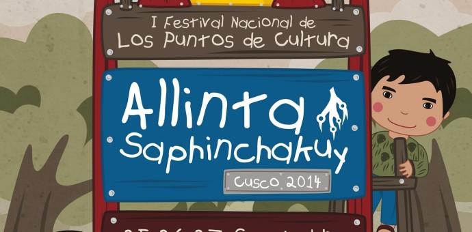 Cusco será sede del Primer Festival Nacional de Puntos de Cultura