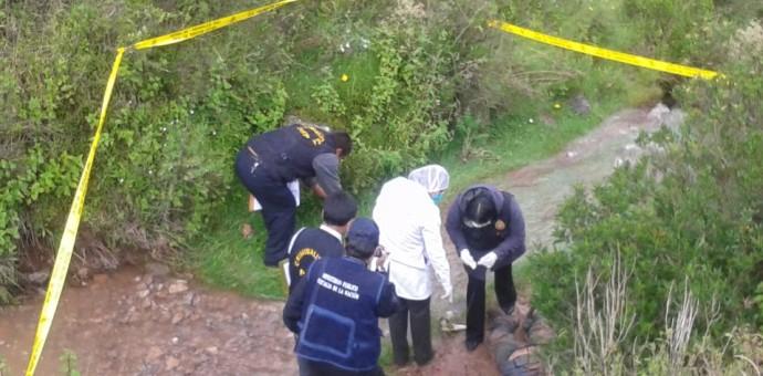 Dos personas mueren tras ser atropelladas por mal conductor que se dio a la fuga