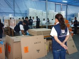Llegó al Cusco material electoral para las elecciones del 05 de octubre