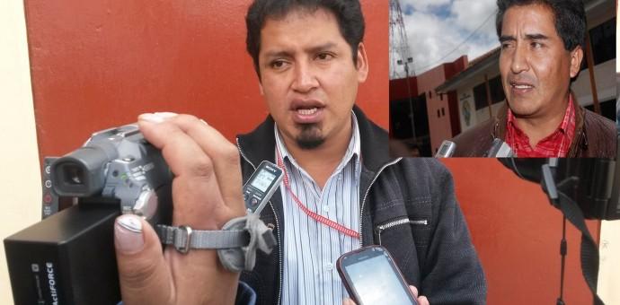 Primer regidor de Vilcabamba denuncia haber sido amenazado de muerte por Juan Olivera