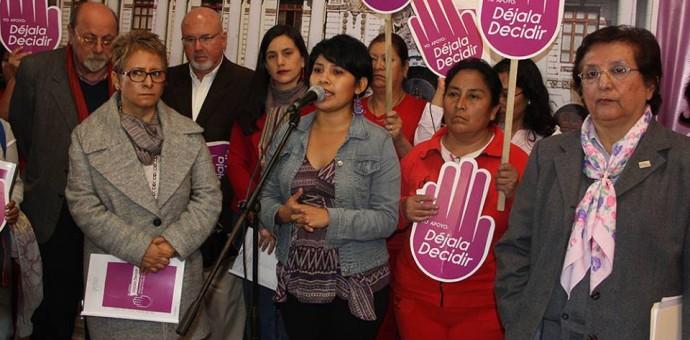 Impulsan iniciativa para despenalizar aborto en caso de violación sexual