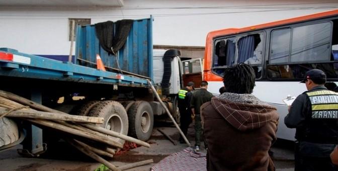 Accidente de tránsito en San Jerónimo deja una persona fallecida y 5 heridos