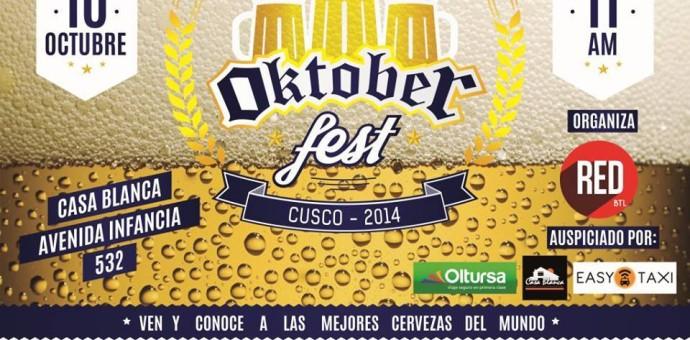 Este viernes se realiza el Oktoberfest en la ciudad imperial del Cusco