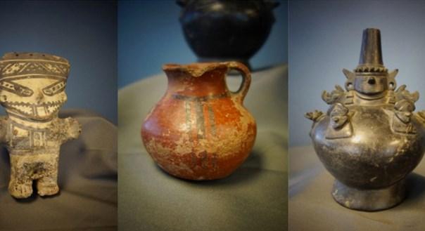 Estados Unidos devuelve al Perú 25 piezas arqueológicas sustraídas