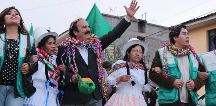 Willy Cuzmar del Castillo va por su tercer mandato en la Municipalidad de Wanchaq