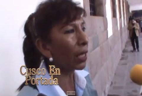 Abogada le reclamó gas para los cusqueños al presidente Ollanta Humala