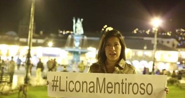 Promueven con un video en las redes sociales el hashtag «Licona Mentiroso»