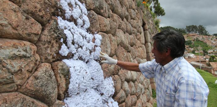 A partir del 4 de noviembre Cultura impulsará campaña de limpieza de muros inca