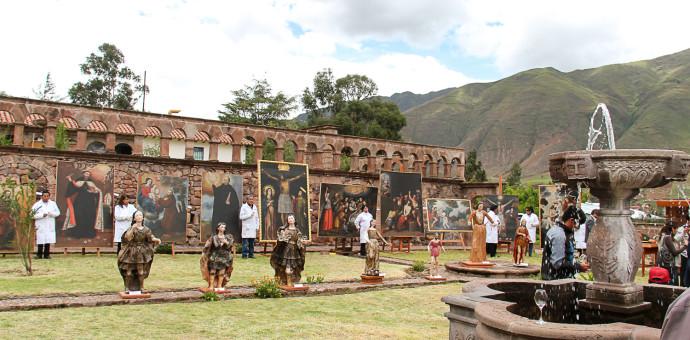 Ministerio de Cultura restauró 91 obras de arte, entre esculturas y lienzos