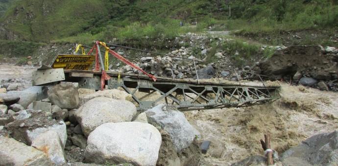 Recomiendan no viajar a Machu Picchu por la vía Santa María-Santa Teresa