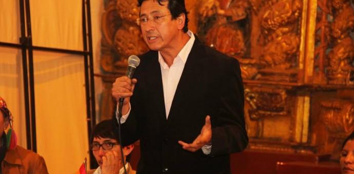 Carlos Moscoso viajó a España a participar de un Foro Iberoamericano de Alcaldes