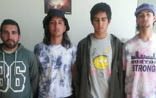 Intervienen a 4 ciudadanos chilenos cuando se aprestaban a consumir droga