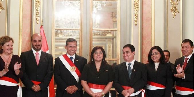 Juraron nuevos ministros de Energía y Minas, Interior, Justicia, Trabajo y de la Mujer