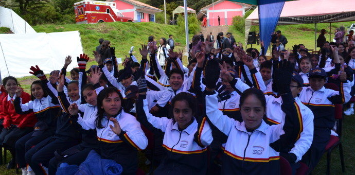 Inauguran Colegio de Alto rendimiento en Pucyura, provincia de Anta