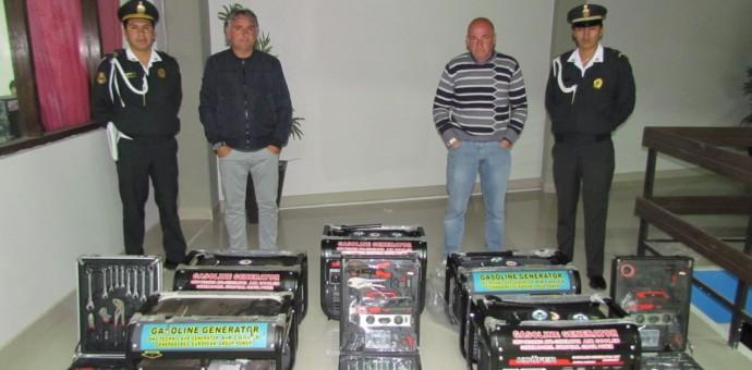 Intervienen a dos italianos por presunta estafa en la venta de generadores eléctricos