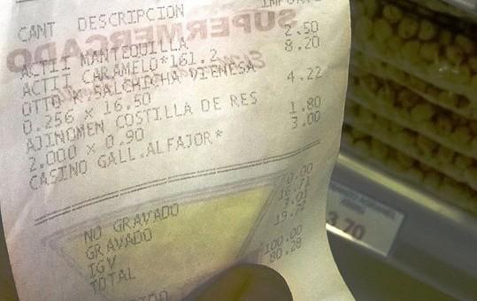 Indecopi sancionó con cerca de 6 mil soles a Supermercado La Canasta