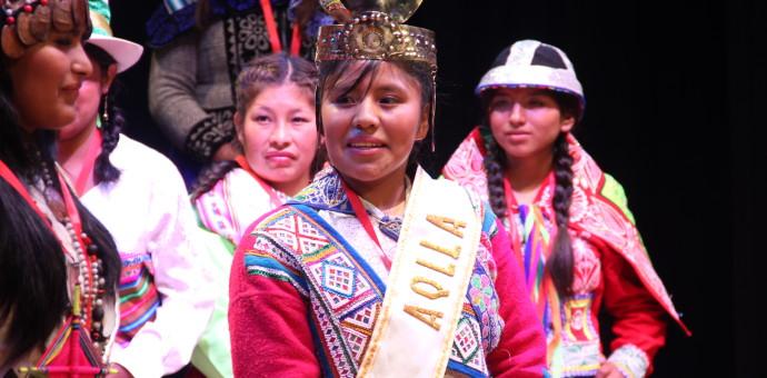 Señorita de Quispicanchi fue proclamada como Sumaq Aklla 2015