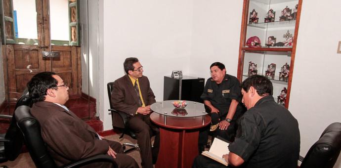 Ministerio de Cultura brindará apoyo a la PNP para trabajos en comisaría de Saphi