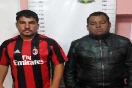 Capturan a dos sujetos denunciados por ultrajar a una joven de 28 años
