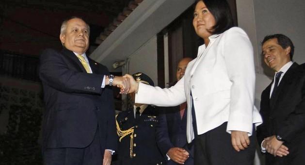 Premier Cateriano destacó importancia de reunión con Keiko Fujimori