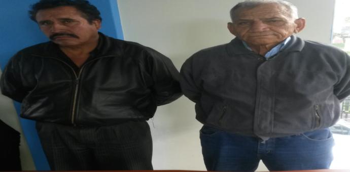 Policía captura a dos sujetos por ser presuntos autores de estafa con el cuento del oro