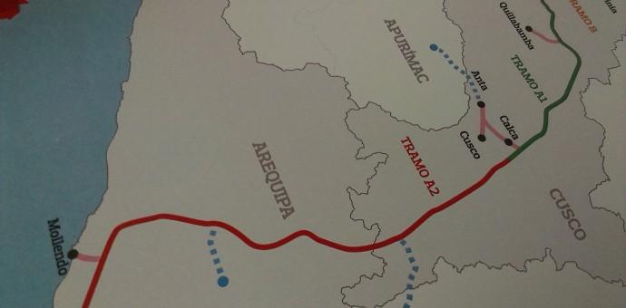 A mediados del 2017 llegará el gas de Camisea a Cusco con el gasoducto sur peruano