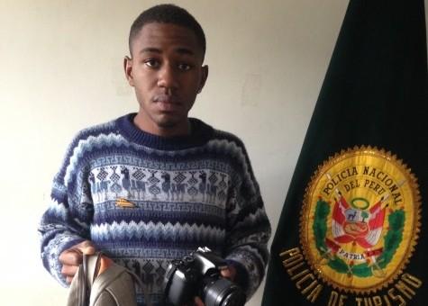 Policía interviene a turista inglés tras realizar una falsa denuncia