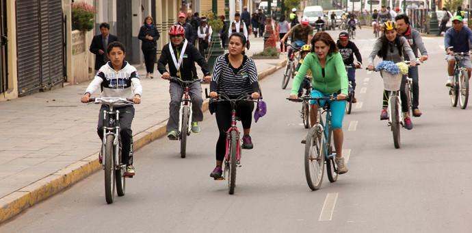 Municipalidad del Cusco anuncia el desarrollo de la Ciclovía Recreativa 2015