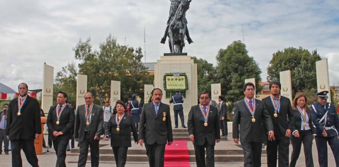Municipalidad de Wanchaq organizó actividad por el martirologio de Túpac Amaru
