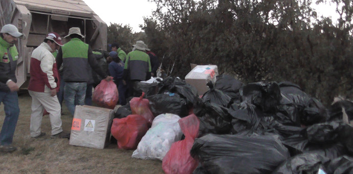 Recogen más de 80 toneladas de basura del complejo de Saqsayhuaman