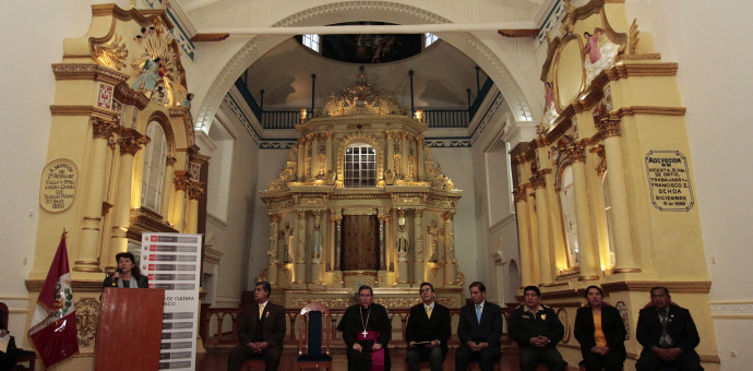 Ministerio de Cultura entregó restaurada la iglesia matriz de Sicuani