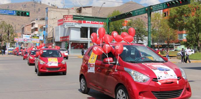 Primer sorteo de autos de la Caja Cusco será el 18 de setiembre de este año