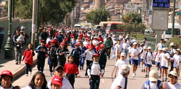 Más de mil estudiantes participaron en «Yo soy Maratón por mis Derechos»