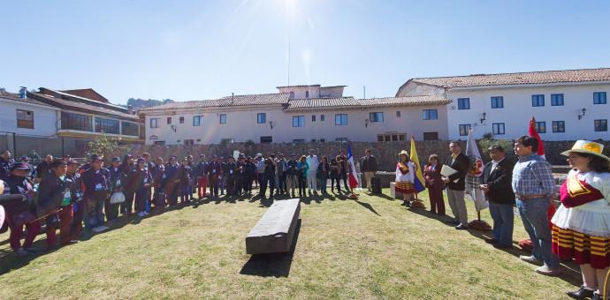 Jóvenes ruteros del Qhapaq Ñan fueron despedidos por autoridades cusqueñas