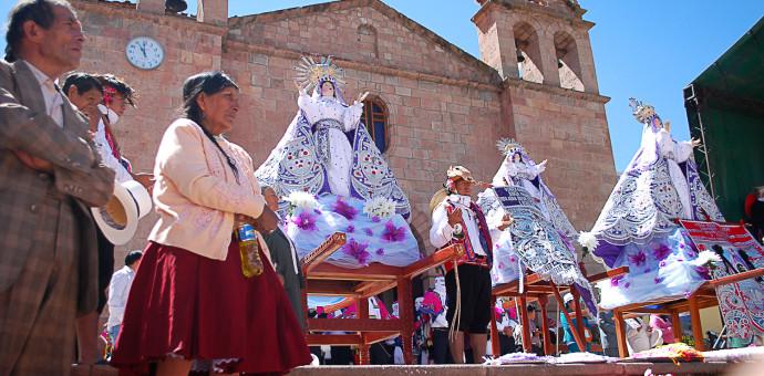 Entregan resolución que declara patrimonio la festividad de la Virgen Asunta-Coya