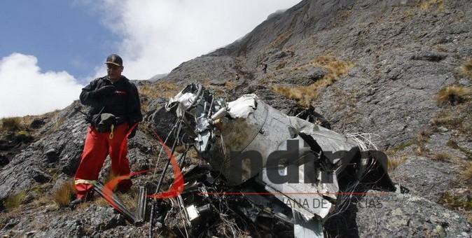 Identifican a las 5 personas que viajaban en el fatídico helicóptero de Heliflight