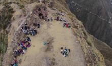 En acción conjunta realizaron trabajos de limpieza en sitio arqueológico de Wata-Anta